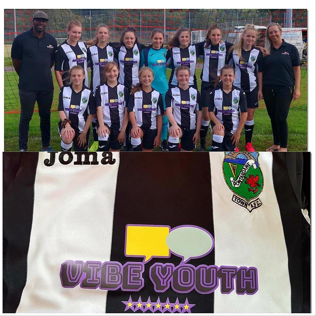 Local girls football team sponsorship
